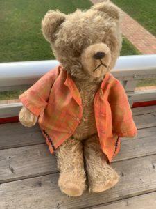 Teddybär aus einer Wohnungsauflösung